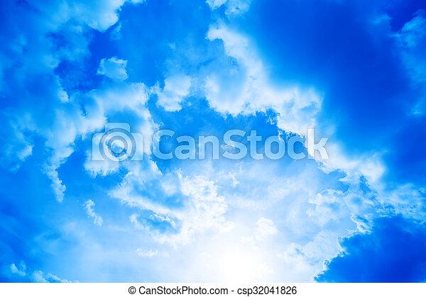 Dramatic Sky - csp32041826