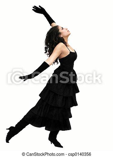 dramatisch, dansers - csp0140356