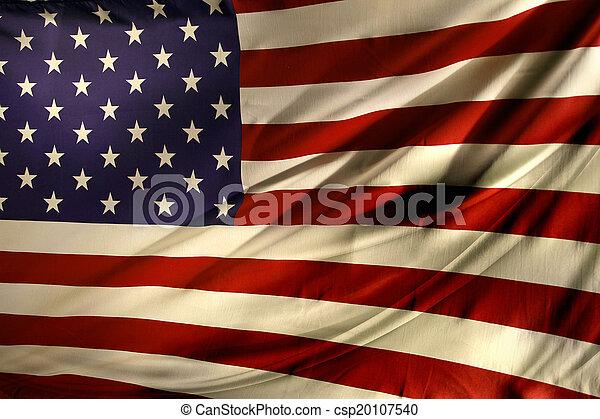 drapeau américain - csp20107540