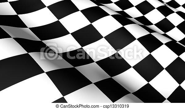 drapeau course - csp13310319