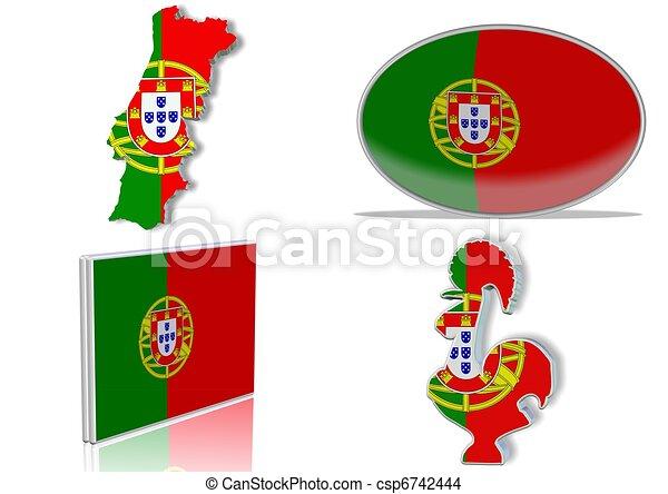 Drapeau portugal portugais diff rent plat angle - Dessin du portugal ...