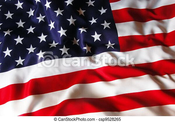 drapeau usa - csp9528265