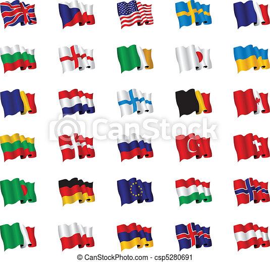 drapeaux - csp5280691