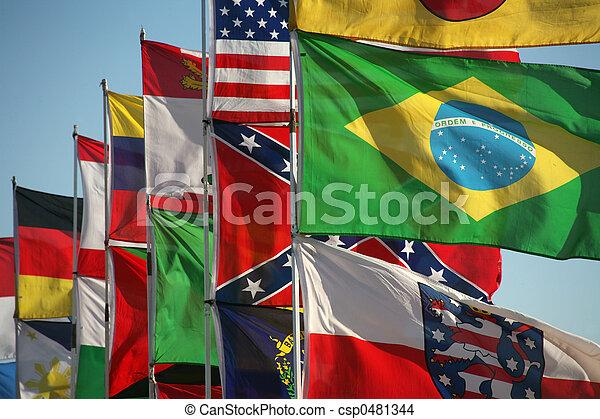 drapeaux - csp0481344