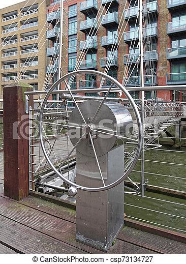 Draw Bridge Wheel - csp73134727