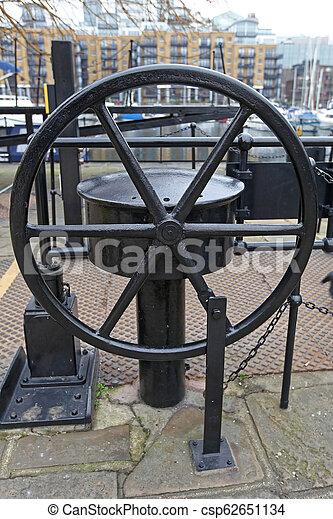 Draw Bridge Wheel - csp62651134