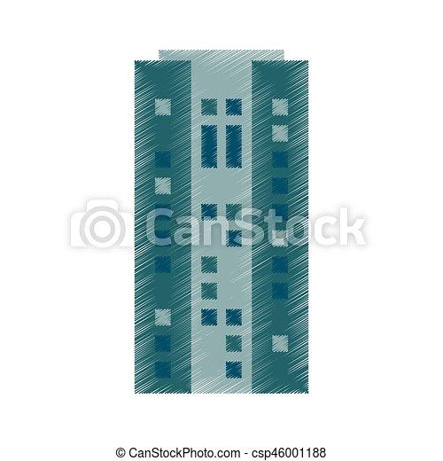 Drawing Building Skyscraper Architecture