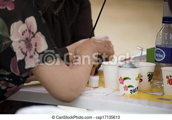 Drawing, Hand - csp17135613