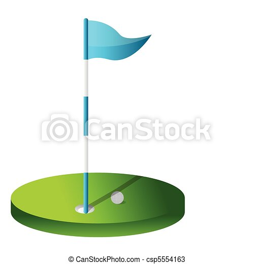 drawing of a golf hole. drawing of a golf hole ... Golf Hole Clip Art