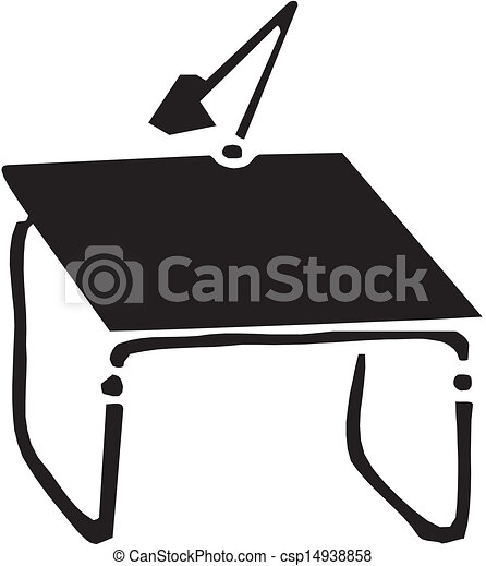 drawing table vector
