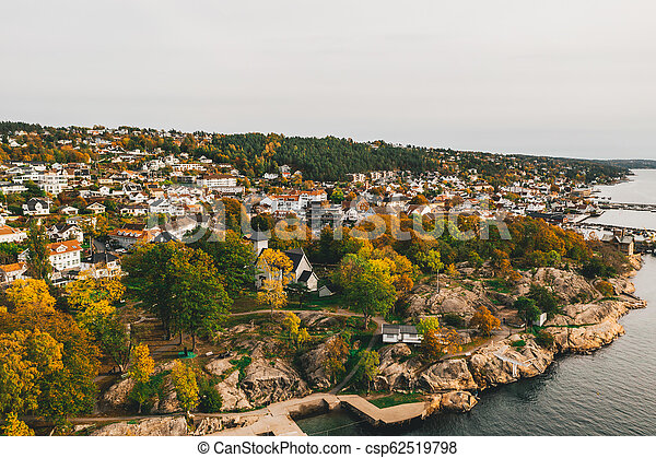 Dr?bak in Autumn Colours - csp62519798