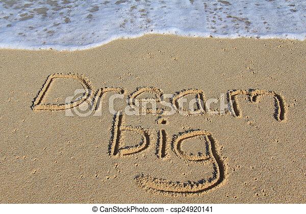 Dream big - csp24920141