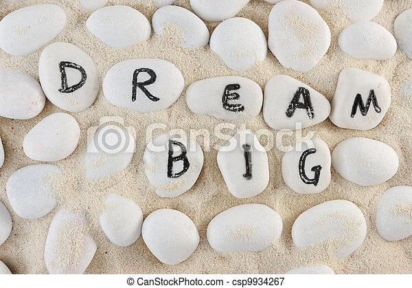 Dream big words - csp9934267