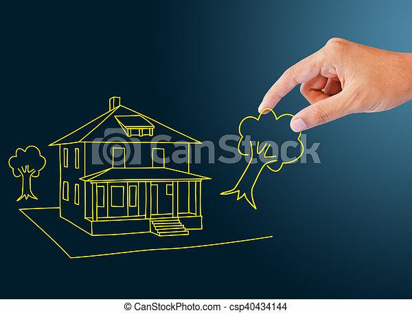 dream home - csp40434144