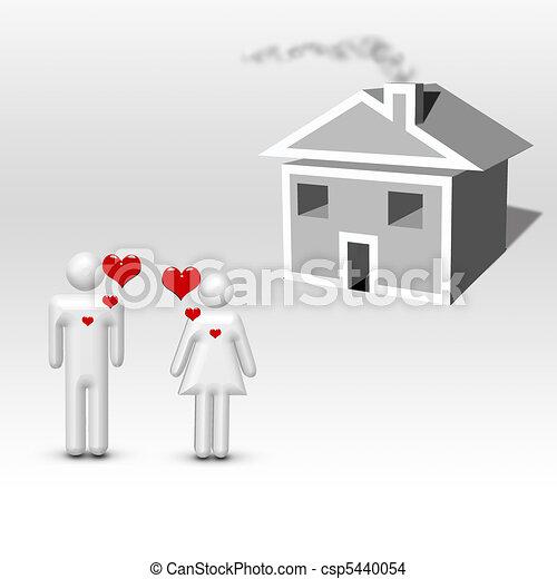 Dream Home - csp5440054