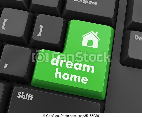 dream home - csp35188930