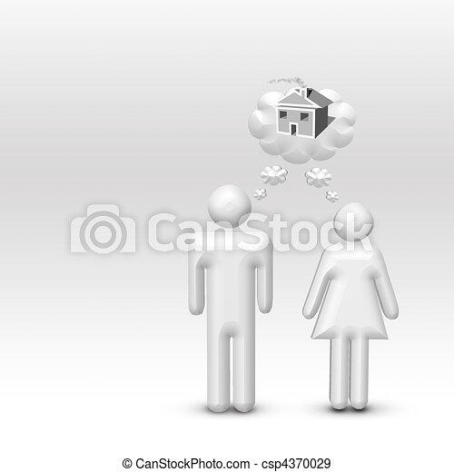Dream Home - csp4370029