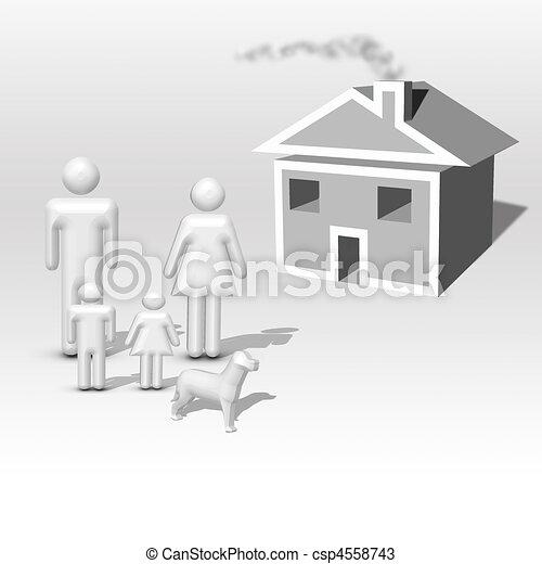 Dream Home - csp4558743