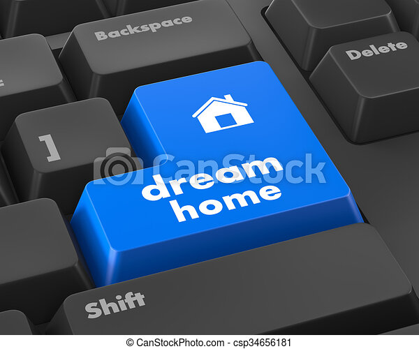 dream home - csp34656181