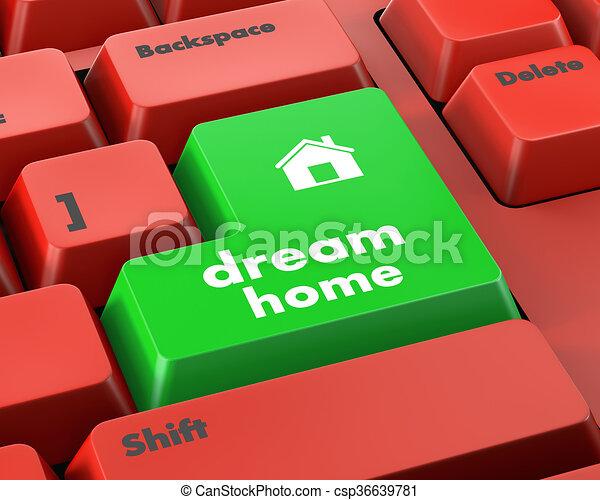 dream home - csp36639781
