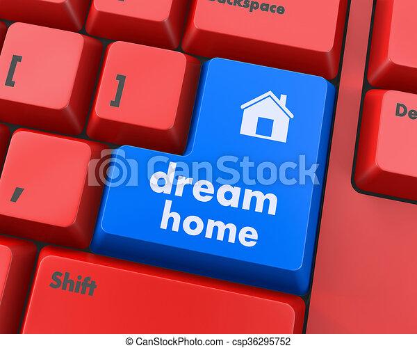 dream home - csp36295752