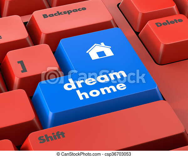 dream home - csp36703053