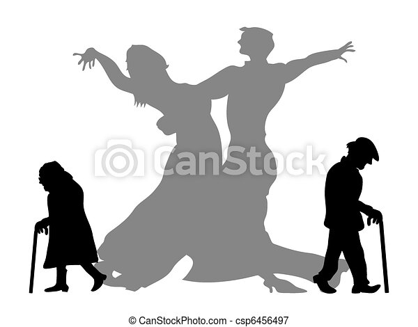 dream to be the dancing partner - csp6456497