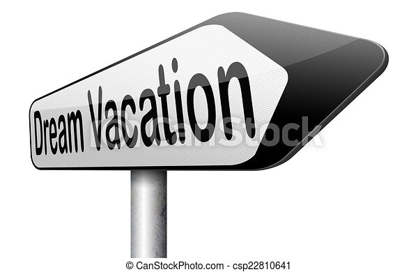 Dream Vacation Traveling Towards Holiday Destination Summer Winter