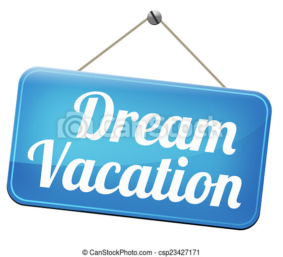Dream Vacation Traveling Towards Holiday Destination Summer Winter