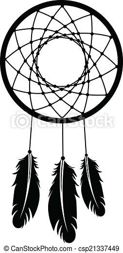 a dreamcatcher silhouette eps vector search clip art rh canstockphoto com dream catcher clipart dreamcatcher clip art free