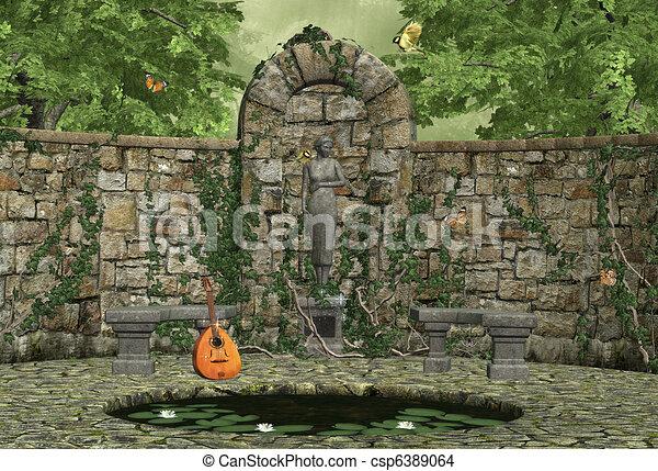 Dreamy Garden   Csp6389064