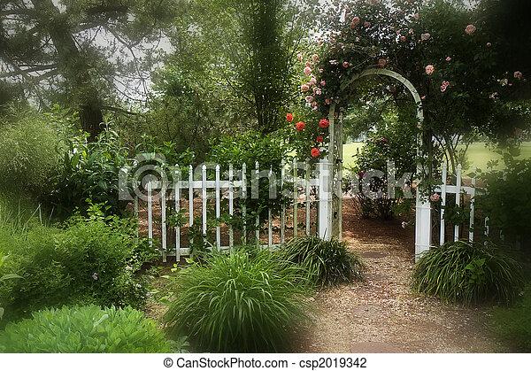 Dreamy Garden   Csp2019342