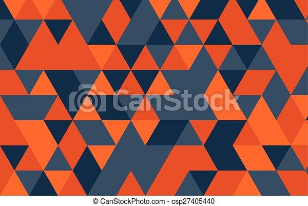 Dreieck, muster, abstrakt, modern, vektor, design, template.