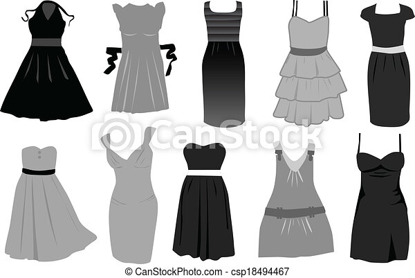 dress-icon vector - csp18494467