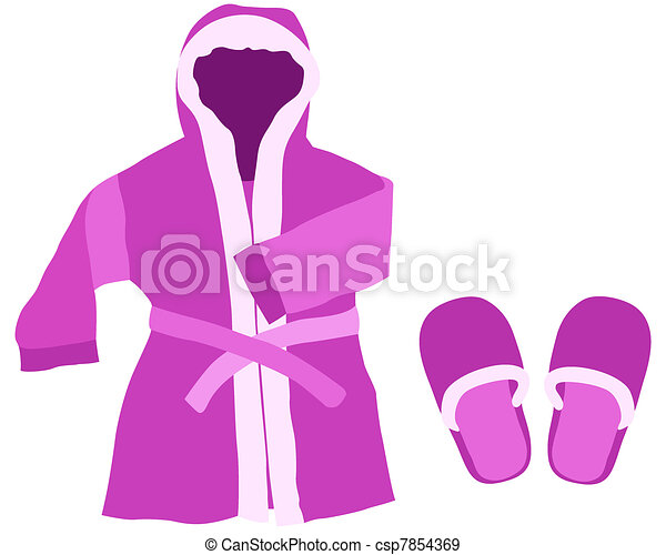Dressing gown - csp7854369