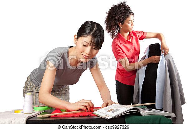 Dressmaker at Work - csp9927326