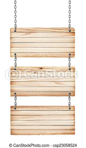 drewniany, rocznik wina, odizolowany, tło, znaki, biały - csp23058524