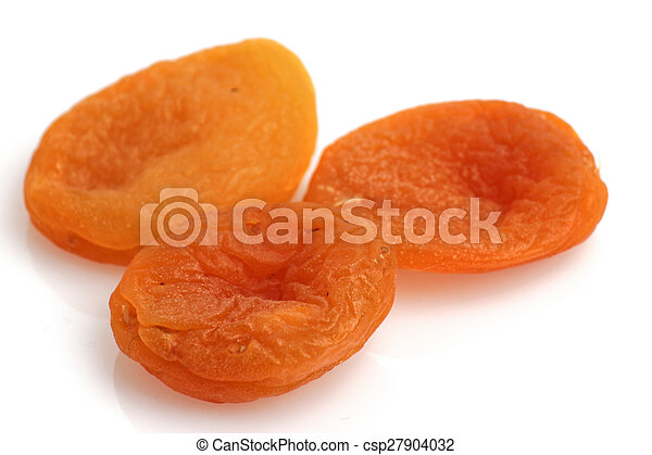 dried apricots isolated - csp27904032