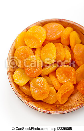 Dried apricots - csp12335065