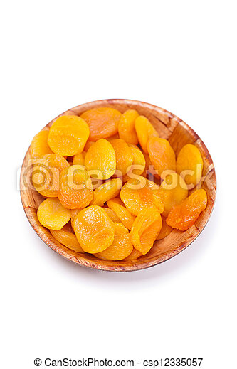 Dried apricots - csp12335057
