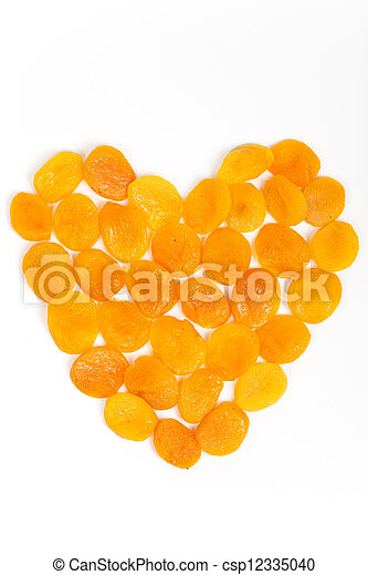 Dried apricots - csp12335040
