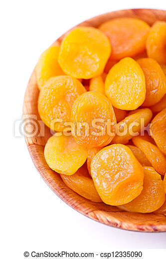 Dried apricots - csp12335090