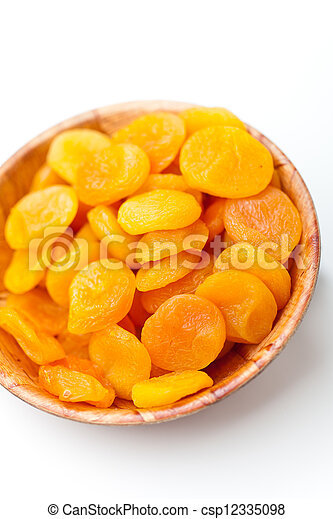 Dried apricots - csp12335098