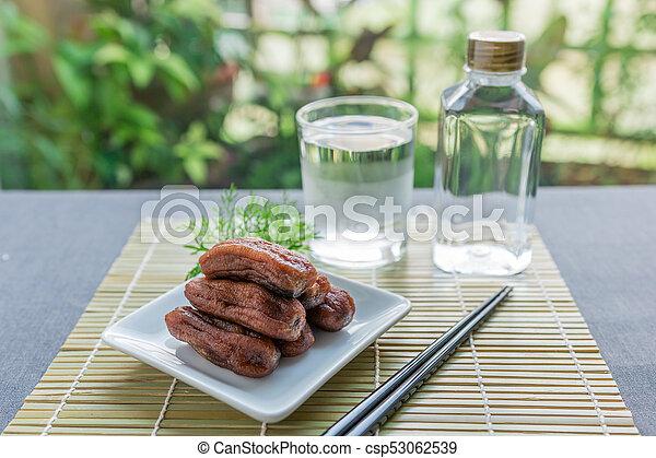 Dried bananas - csp53062539
