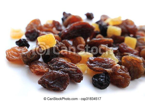 dried fruit - csp31834517