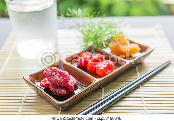 Dried fruit - csp53190646