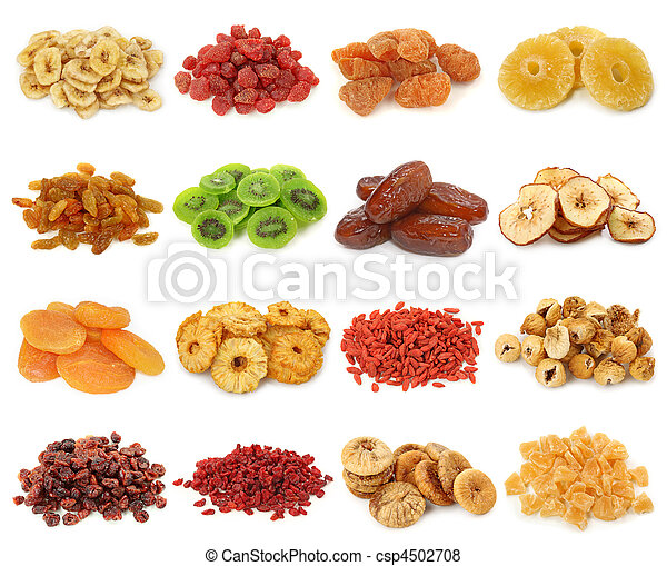 Dried fruits collection - csp4502708