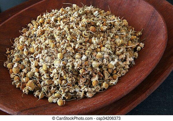 Dried herbs - csp34206373