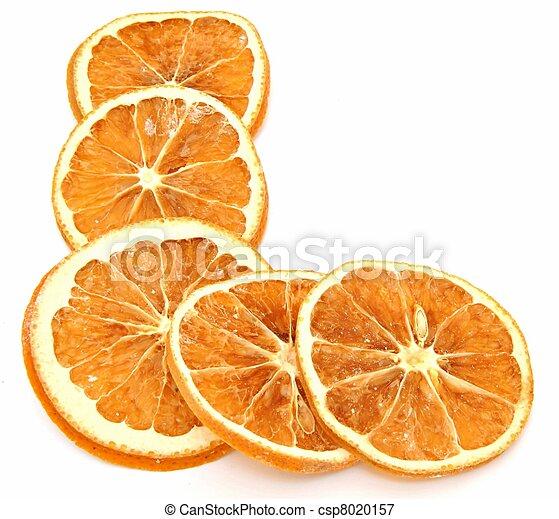 Dried orange - csp8020157