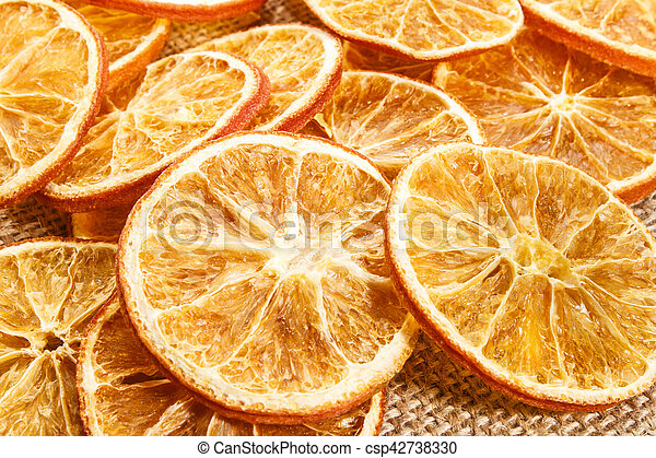Dried Orange Slices Also Usable As A Christmas Decoration Dried